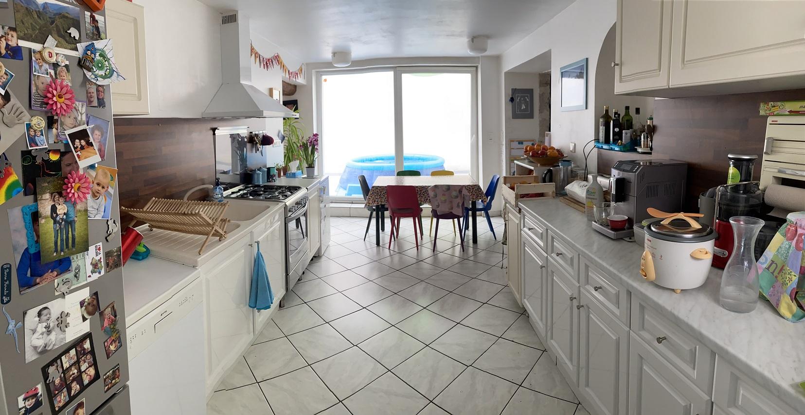 Cuisine aménagée de 17 m²